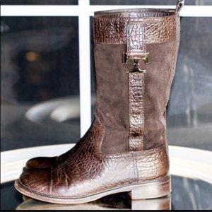 🌿Tory Burch Corey Mid Calf Boot